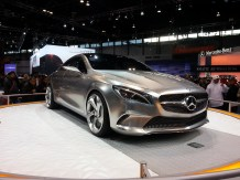 Mercedes concept car - best in show, in my opinion