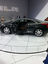 Cadillac ELR - electric!