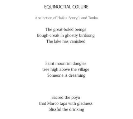 Equinoctial Colure