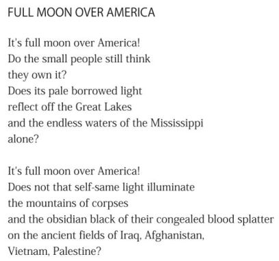 Full Moon Over America