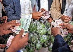 The daily khat transaction