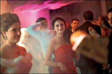 A wedding party in the Syrian coastal town of Tartus. Photo:Seamus Murphy
