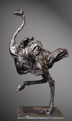 Ostrich 31x46cm 1/8 ©2003