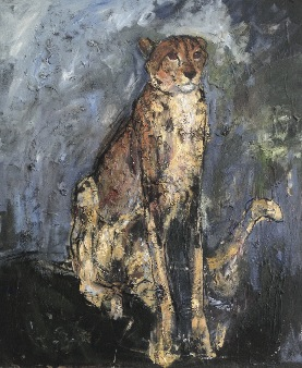 Cheetah 150x100cm oil on canvas ©2005 Cheetah 150x100cm oil on canvas ©2005