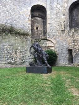 Tigre Royal - 167x160cm - 2017 - city of Compiègne