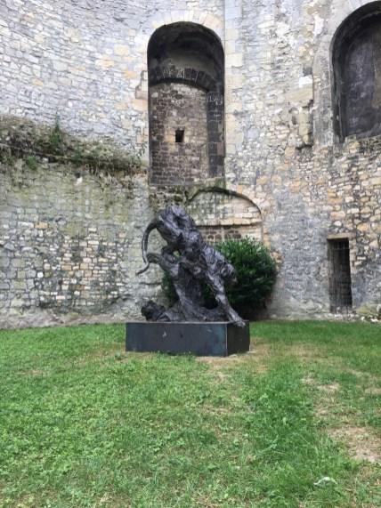 Tigre Royal (sold) - 167x160cm - 2017 - city of Compiègne