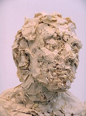 Bust 45x27cm paper 1/1 ©2010 detail