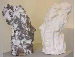 Faces 44x28cm bronze 1:3 © 2006