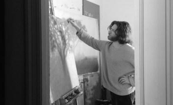 Tobias Spierenburg in his studio
