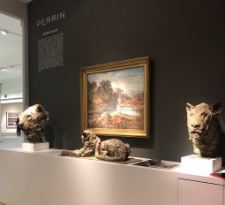 """Head of a Lioness II & III"" on Masterpiece London 2019"