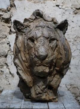 Lion 63x45x42cm 1/8 ©2019