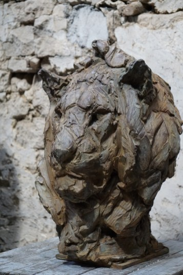 Head of a Lion III 63x45x42cm 1/8 bronze