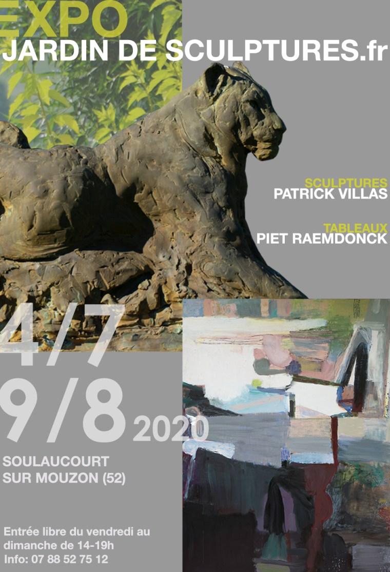 Affiche Jardin de Sculptures 2020 web