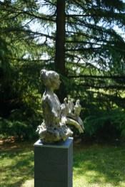 Woman with Doves 87x56x57cm bronze 1/8 bronze