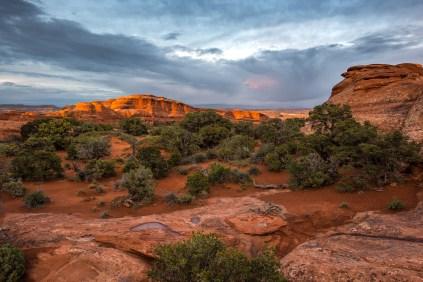 Nach dem Gewitter folgt die Sonne. Nicht anders ist es hier. Der Regen bringt die Farben wunderbar zur Geltung.