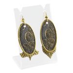 Woodland Chic Texture Earrings