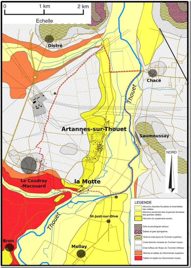 Artannes Géologie