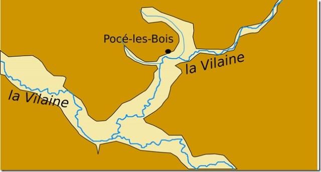 Configuration de Pocé-les-Bois
