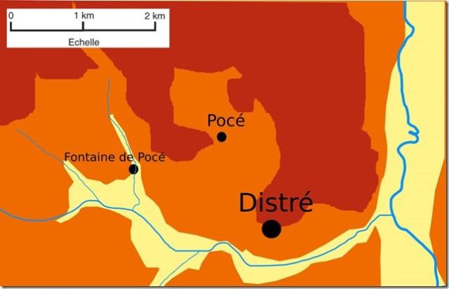 Pocé à Distré (Maine-et-Loire)