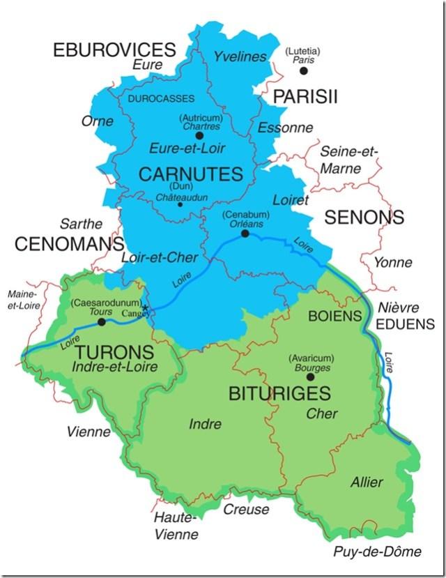Peuples gaulois de Région Centre