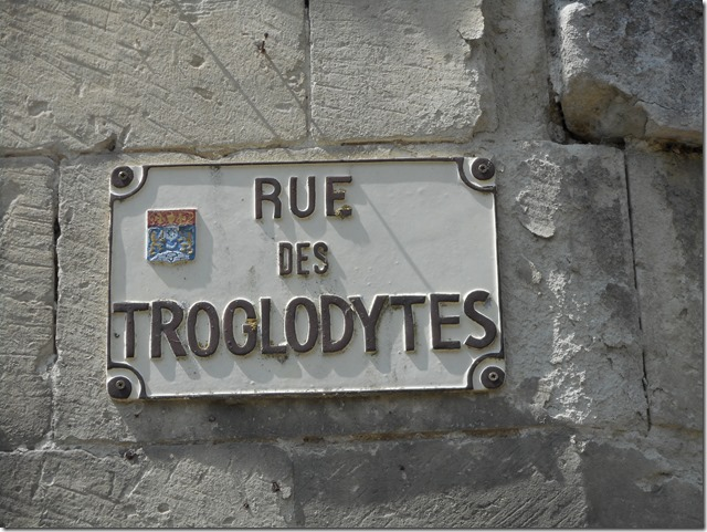 Rue des Troglodytes à Saumoussay