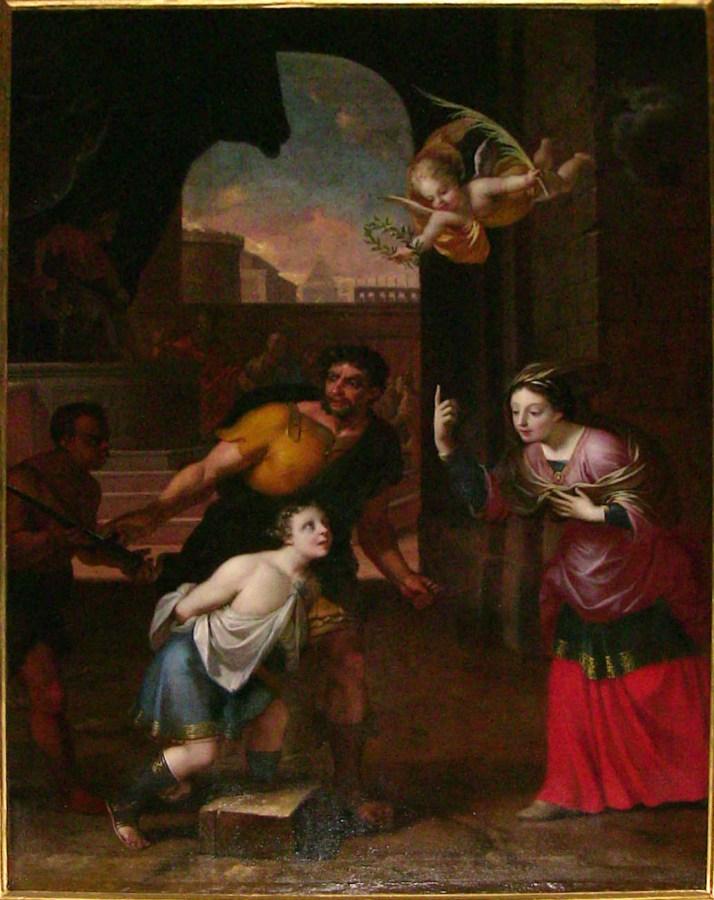 Martyre de saint Symphorien