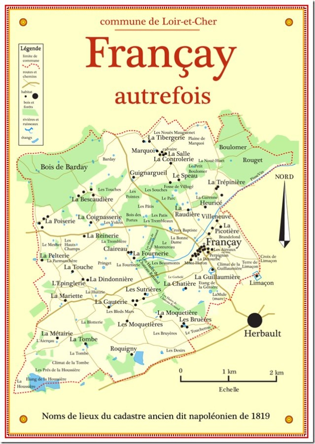 Cartographie du cadastre ancien