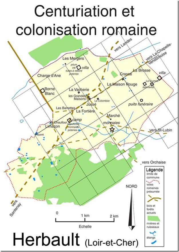 Extrait de la brochure : Histoire d'Herbault par ses noms de lieux