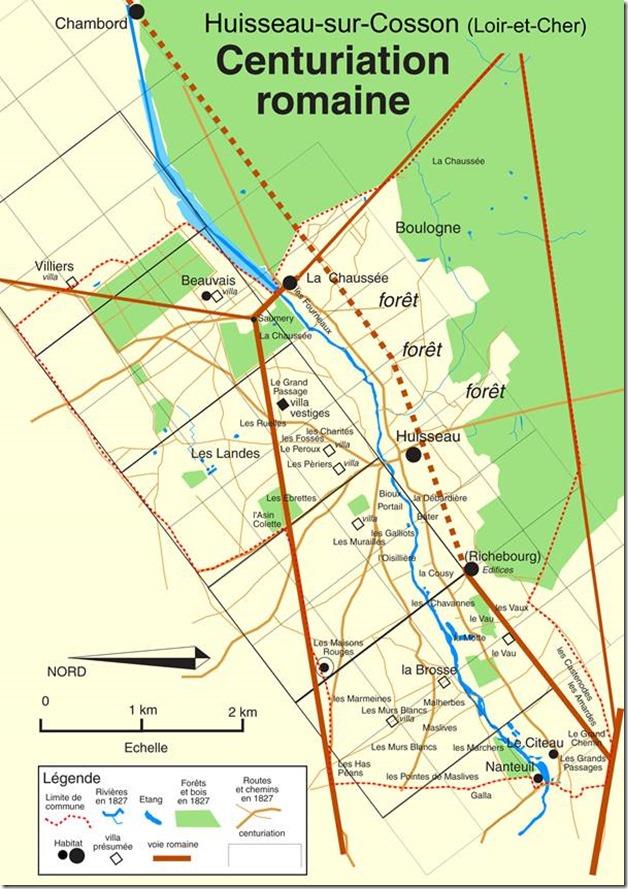 Extrait de la brochure : Histoire de Huisseau-sur-Cosson par ses noms de lieux