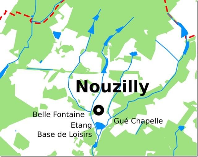 Nouzilly, un nom illustrant une réalité géographique