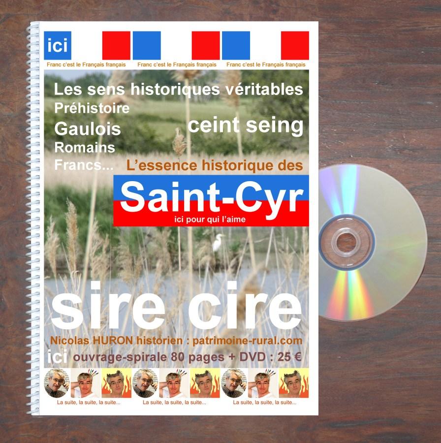 St-Cyr Livre-spirale+DVD