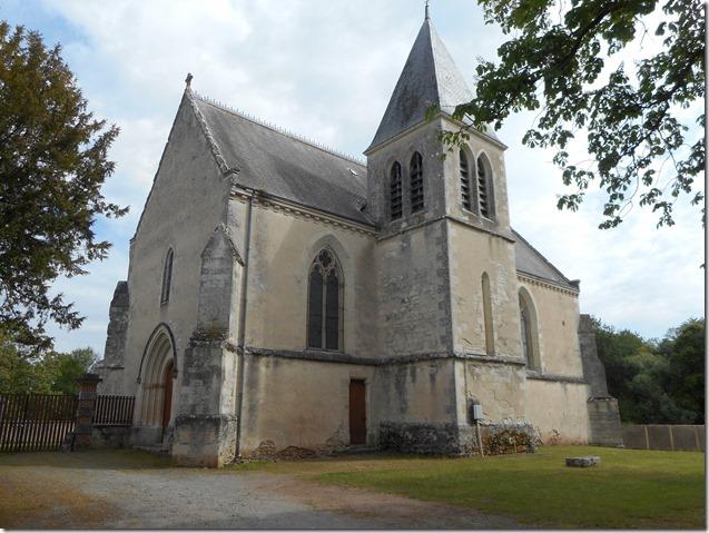 Eglise Saint-Michel  de Saint-Michel-en-Brenne (Indre, 36)