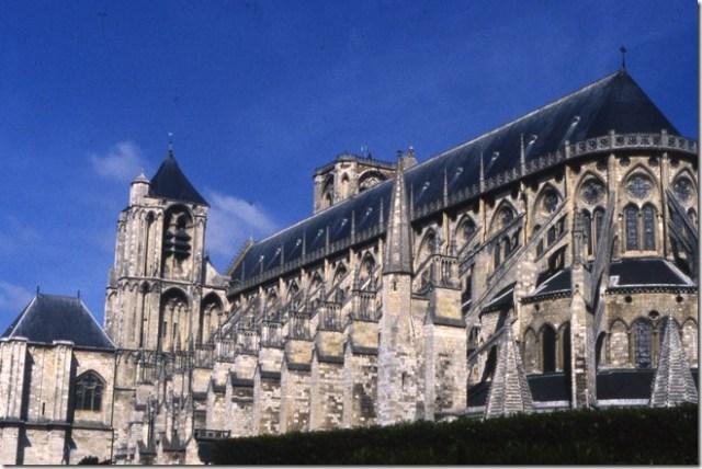 L'église cathédrale Saint-Etienne de Bourges (Cher)
