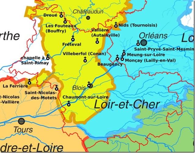 Les églises Saint-Nicolas en Loir-et-Cher (41)