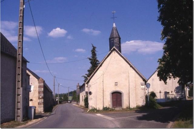 La chapelle de Vallainville, commune de Moléans (28)