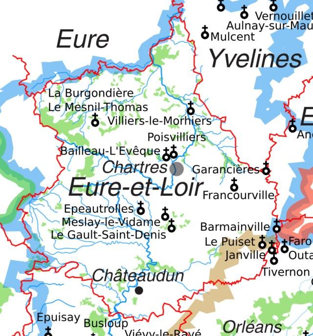 Les églises Saint-Etienne en Eure-et-Loir