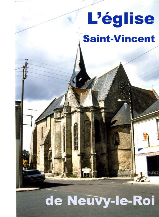 L'église Saint-Vincent de Neuvy-le-Roi (37)