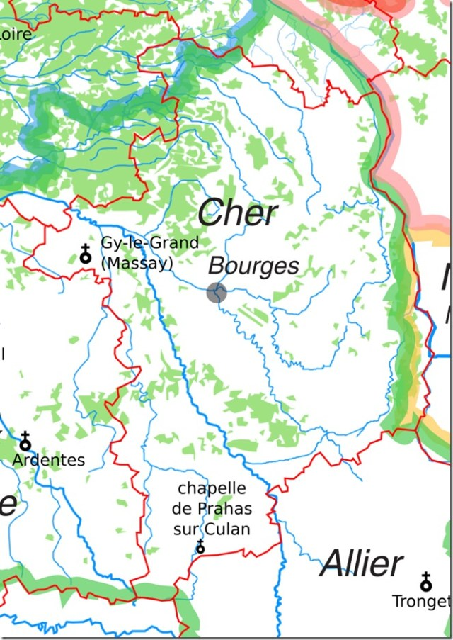 Les églises Saint-Vincent dans le Cher