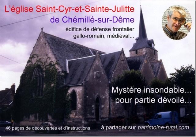 Chemillé-sur-Dême (37) Carte-Mystère