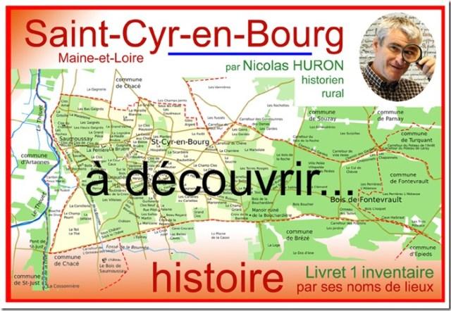Si Saint-Cyr-en-Bourg (49) se lit vrai : livraison livret 01 de l'inventaire des toponymes