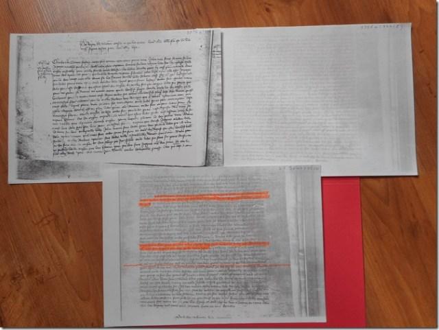 Photocopies : Archives Nationales : Trésor des chartes, JJ 96, folio 114 verso, N° 335