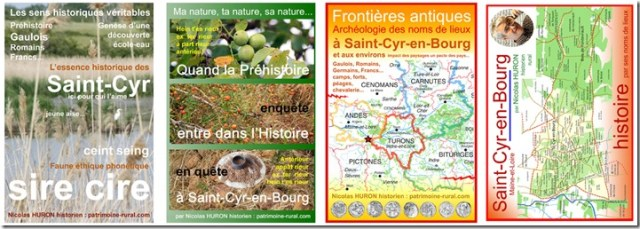 Couvertures-des-4-Ouvrages-Saint-Cyr-en-Bourg