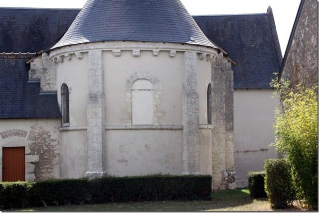Chevet en cul de four de l'église de Notre-Dame de Françay