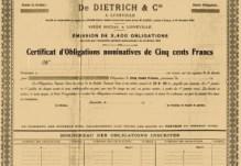 obligation luneville 1901 DD