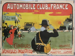 L1110451 AUTOMOBILE CLUB DE FRANCE CONCONCOURS 1908 VEHICULES INDUSTRIELS 120x160