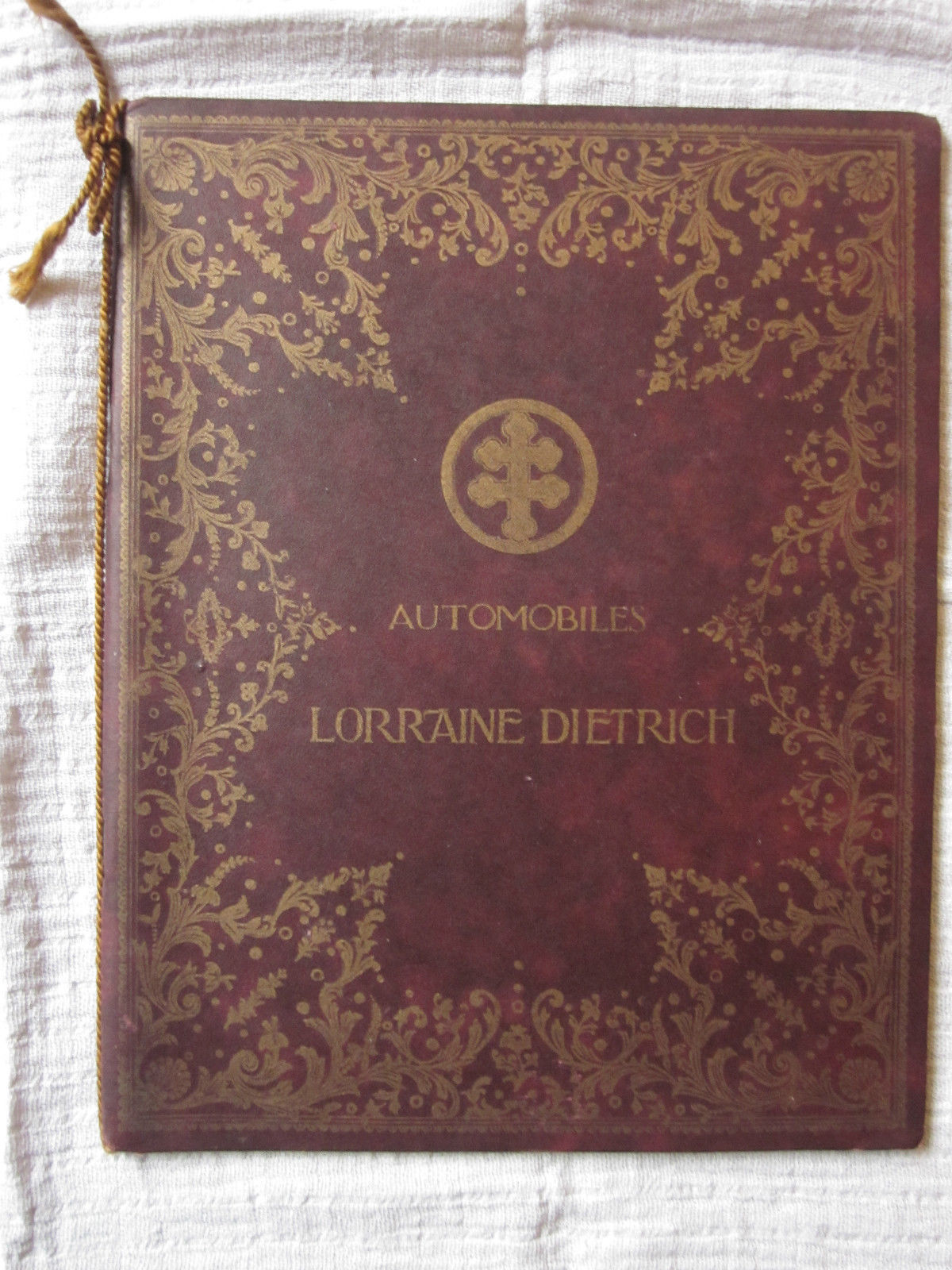 catalogue lorraine dietrich de 1909 patrimoine. Black Bedroom Furniture Sets. Home Design Ideas