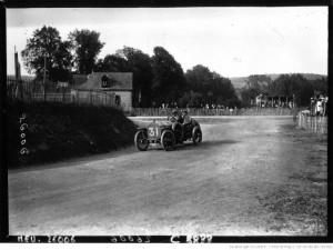 Circuit de Dieppe Bablot sur Lorraine Dietrich