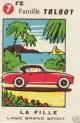 carte a jouer TALBOT LAGO grand sport voiture ancienne a (Copier)