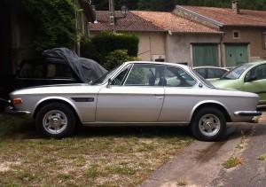 bmw-coté-dte-Copier-Copier-300x211 BMW E9 3.0 CSI de 1972  -Vendue- Autre BMW E9 3.0 csi de 1972 Divers