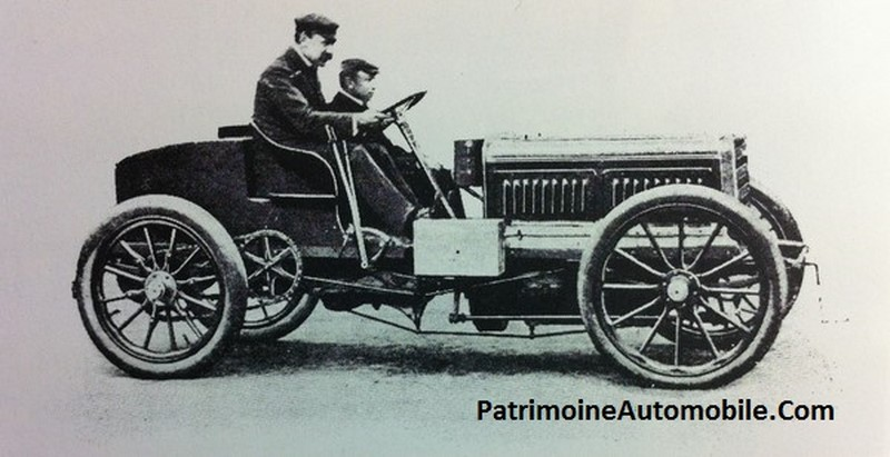 paris madrid 1903 patrimoine automobile com. Black Bedroom Furniture Sets. Home Design Ideas